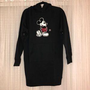 0a89967195a Uniqlo Dresses - UNIQLO Disney Mickey Hoodie Sweater Dress NWT